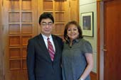 Meeting between Consul General ONO and New Mexico Governor Susana Martinez (November 18, 2013)