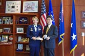 Consul General's courtesy call to Superintendant of Air Force Academy (December 3, 2013)
