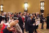 The 2013 National Day reception had a wonderful turnout.