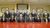 11 English language teachers from Japanese Middle and High schools paid courtesy call to Consul General Ono (August 19, 2014)