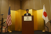 Consul-General Ono gave greetings and remarks